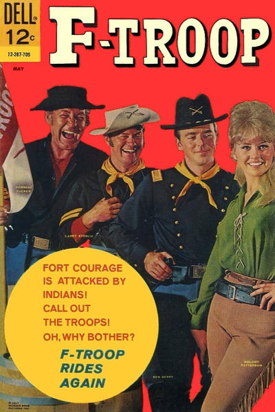 Cover for F-Troop (Dell, 1966 series) #5