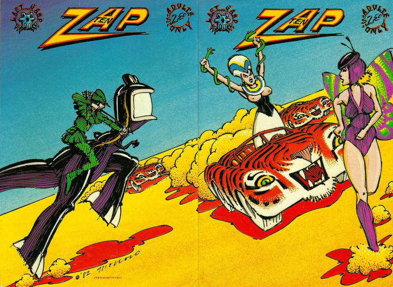 Cover for Zap Comix (Last Gasp, 1982 ? series) #10 [Third Printing]