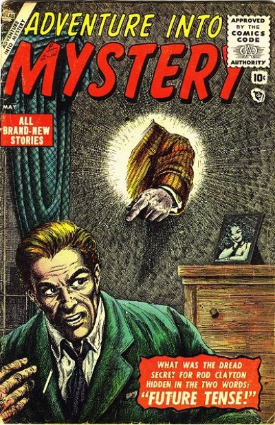 Cover for Adventure Into Mystery (Marvel, 1956 series) #1