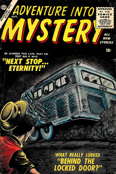 Cover for Adventure Into Mystery (Marvel, 1956 series) #3