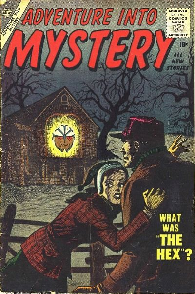 Cover for Adventure Into Mystery (Marvel, 1956 series) #4