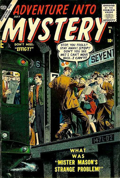 Cover for Adventure Into Mystery (Marvel, 1956 series) #8