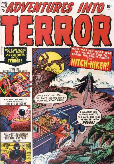 Cover for Adventures into Terror (Marvel, 1950 series) #5