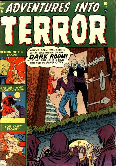 Cover for Adventures into Terror (Marvel, 1951 series) #6