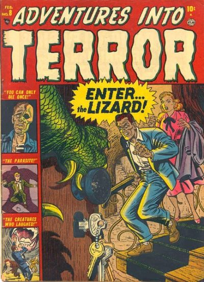 Cover for Adventures into Terror (Marvel, 1951 series) #8
