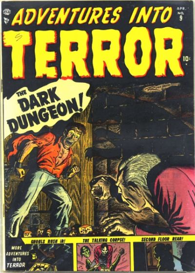 Cover for Adventures into Terror (Marvel, 1951 series) #9