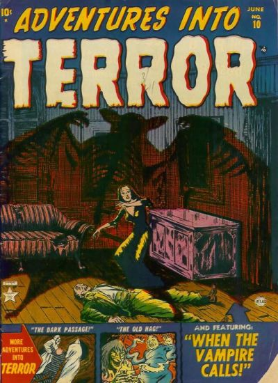 Cover for Adventures into Terror (Marvel, 1951 series) #10
