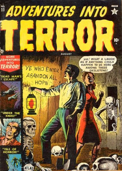 Cover for Adventures into Terror (Marvel, 1951 series) #11