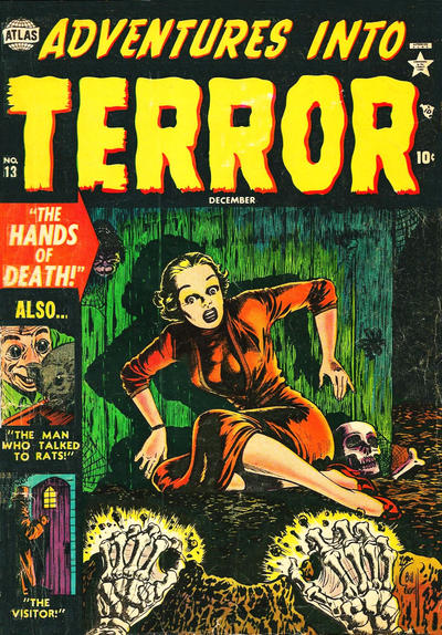 Cover for Adventures into Terror (Marvel, 1950 series) #13