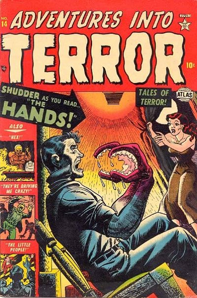 Cover for Adventures into Terror (Marvel, 1951 series) #14