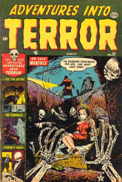Cover for Adventures into Terror (Marvel, 1951 series) #17