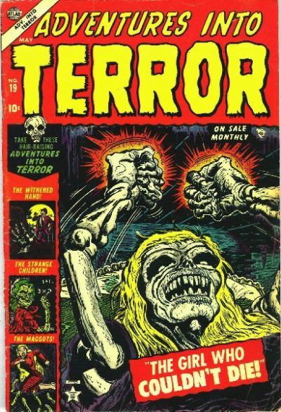 Cover for Adventures into Terror (Marvel, 1951 series) #19