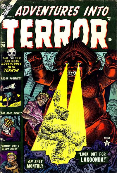 Cover for Adventures into Terror (Marvel, 1951 series) #20