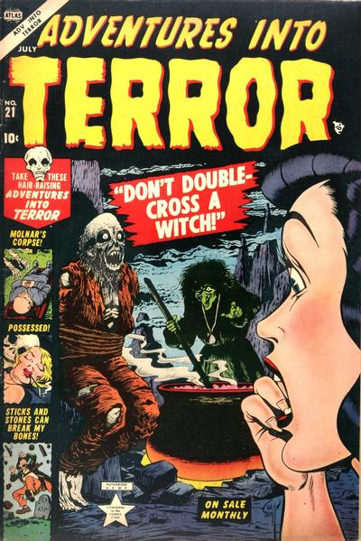Cover for Adventures into Terror (Marvel, 1951 series) #21