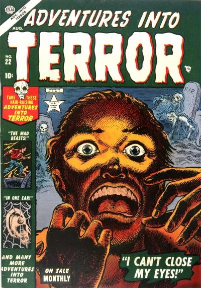 Cover for Adventures into Terror (Marvel, 1951 series) #22