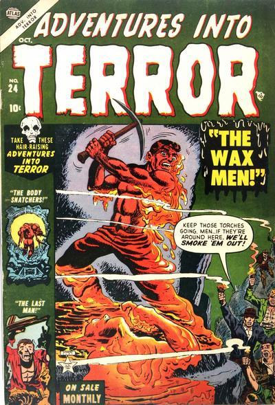 Cover for Adventures into Terror (Marvel, 1951 series) #24