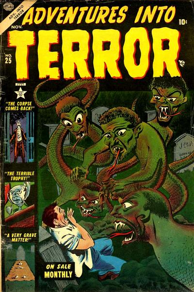 Cover for Adventures into Terror (Marvel, 1951 series) #25