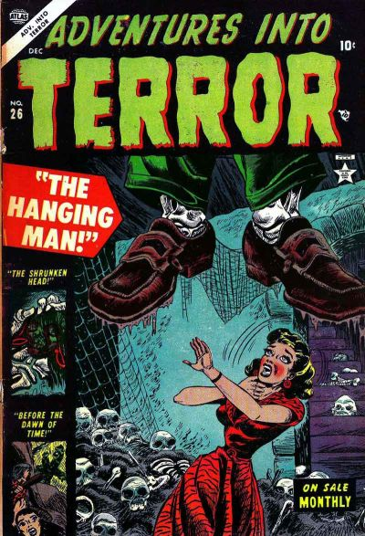 Cover for Adventures into Terror (Marvel, 1951 series) #26