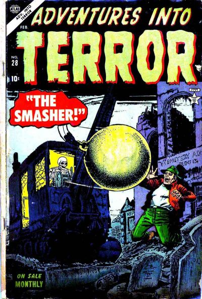Cover for Adventures into Terror (Marvel, 1951 series) #28