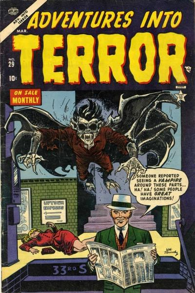 Cover for Adventures into Terror (Marvel, 1950 series) #29