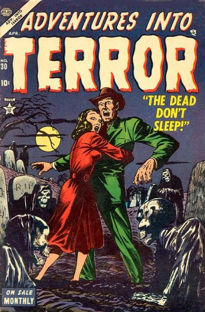 Cover for Adventures into Terror (Marvel, 1951 series) #30