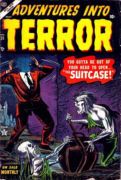 Cover for Adventures into Terror (Marvel, 1951 series) #31