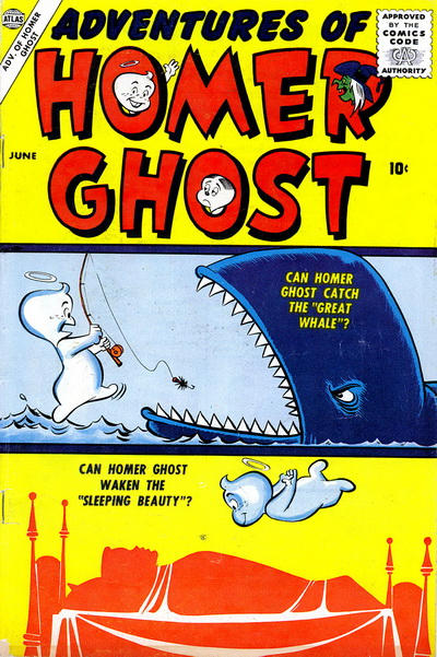 Cover for Adventures of Homer Ghost (Marvel, 1957 series) #1