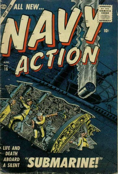 Cover for Navy Action (Marvel, 1957 series) #16