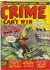 Cover for Crime Can't Win (Marvel, 1950 series) #42 [2]