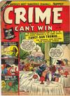 Cover for Crime Can't Win (Marvel, 1950 series) #43 [3]