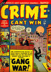 Cover for Crime Can't Win (Marvel, 1950 series) #8