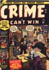 Cover for Crime Can't Win (Marvel, 1950 series) #9