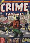 Cover for Crime Can't Win (Marvel, 1950 series) #11