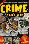 Cover for Crime Can't Win (Marvel, 1950 series) #12
