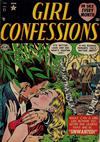 Cover for Girl Confessions (Marvel, 1952 series) #21