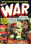 Cover for War Comics (Marvel, 1950 series) #3
