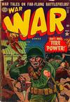 Cover for War Comics (Marvel, 1950 series) #12