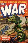 Cover for War Comics (Marvel, 1950 series) #13