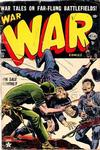 Cover for War Comics (Marvel, 1950 series) #15