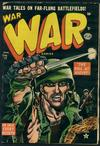Cover for War Comics (Marvel, 1950 series) #17