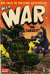 Cover for War Comics (Marvel, 1950 series) #18
