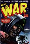 Cover for War Comics (Marvel, 1950 series) #19