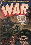 Cover for War Comics (Marvel, 1950 series) #20
