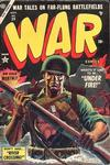 Cover for War Comics (Marvel, 1950 series) #29
