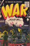 Cover for War Comics (Marvel, 1950 series) #35