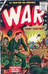 Cover for War Comics (Marvel, 1950 series) #37