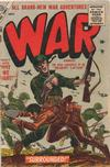 Cover for War Comics (Marvel, 1950 series) #38