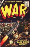 Cover for War Comics (Marvel, 1950 series) #39