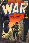 Cover for War Comics (Marvel, 1950 series) #43