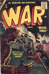 Cover for War Comics (Marvel, 1950 series) #44